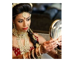 Light Indian Bridal Makeup