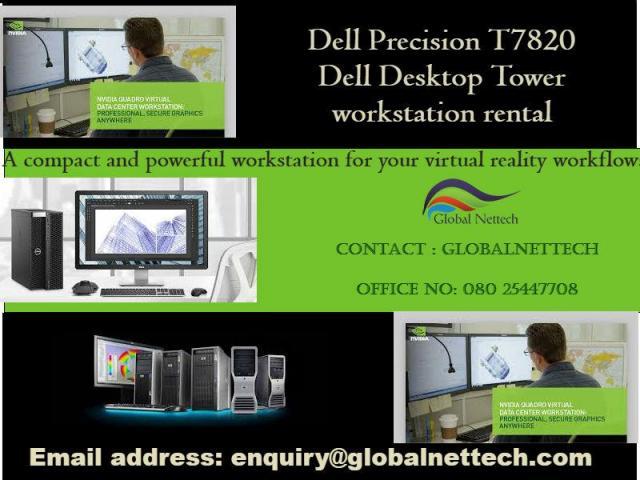 Blazing fast performance Dell Precision T7820 Dual Xeon