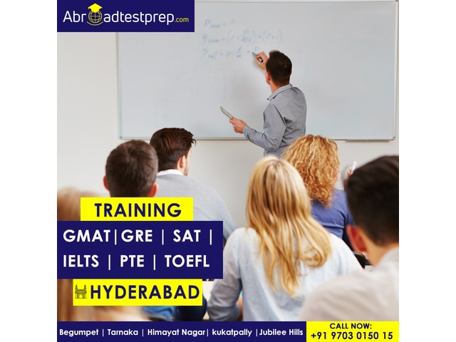 GRE, GMAT, IELTS, TOEFL, PTE Exam and SAT Coaching at