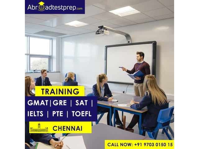 GRE, GMAT, PTE, SAT, IELTS, and TOEFL Training Classes at