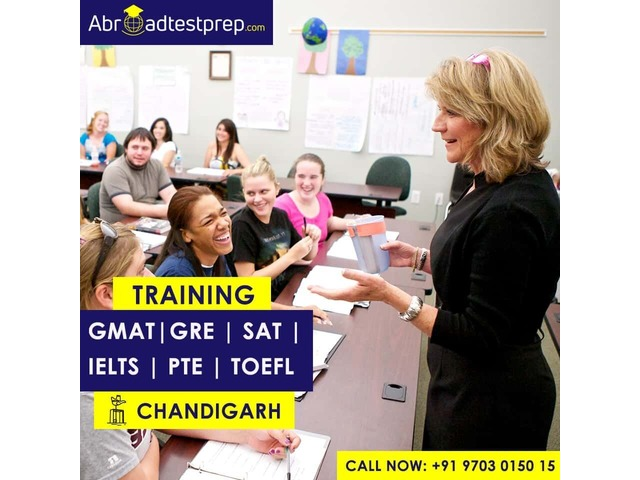 GRE, GMAT, PTE, SAT, TOEFL, and IELTS Training at Chandigarh