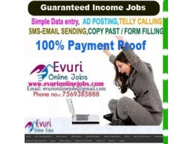 Full Time / Part Time Home Based Data Entry Jobs Chandigarh - Buy