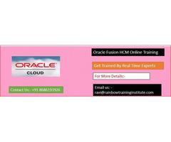Oracle Fusion HCM Online Training |Oracle Cloud HCM Online Training