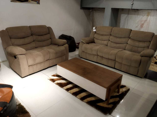 Cool 2 Months Used 5 Seater Recliner Sofa Dailytribune Chair Design For Home Dailytribuneorg