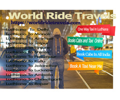 One Way Taxi In Ludhiana Punjab India In Very Cheap Price