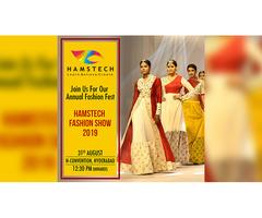 Watch Splendid Artsy Themes at Hamstech Fashion Show 2019