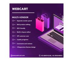 Webcart - Multi Vendor Marketplace Software in India