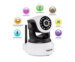 360 Auto-Rotating Wireless CCTV Camera (Lowest Price Online)