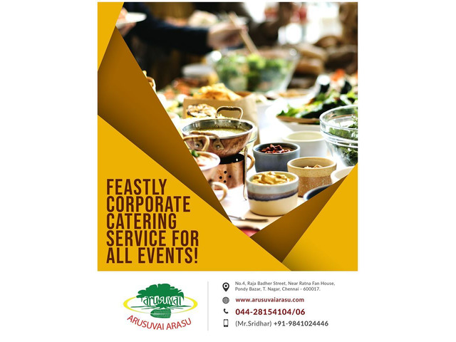 The Best Wedding birthday party caterers and Catering Services in Chennai - 1/1