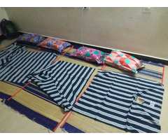 NEW USED MAT, PILLOW & BED SPREAD FOR IMMEDIATE SALE