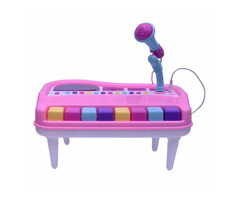 Fashion Music Electronic Organ Piano Keyboard with Unique Michrophone for Kids