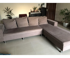 L shape 5 Seater Sofa for Sale