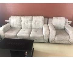 6 Sitter Sofa Set with Center Table