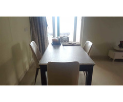 4 Sitter Dining Table with Chairs