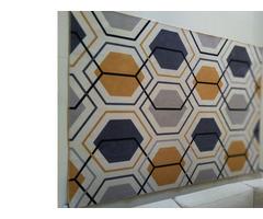 Floor Mat, Rug - Geometric pattern