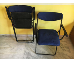 Foldable Study Table Chair Set