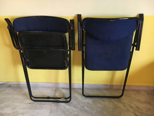 Foldable Study Table Chair Set - 3/3
