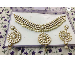 Brand new Kundan jewellery