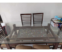 Glass Dining table set - Image 5/6