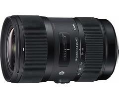 Sigma 18-35m f/1.8 DC (APS-C) Art Lens (Canon EF mount)