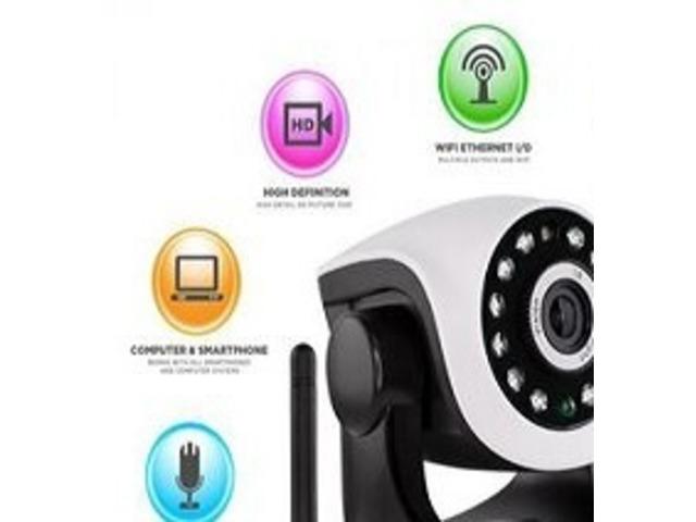 360 Auto-Rotating Wireless CCTV Camera - 1/1