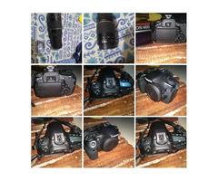 Canon 60D +18-55 + 75-300 lense