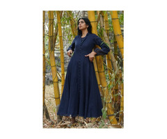 Bohemian Dresses Online | Cotton Maxi Dress- Diaries of Nomad