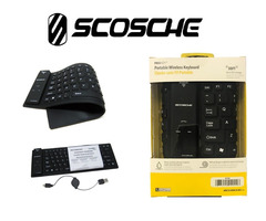 Scosche portable wireless bluetooth keyboard