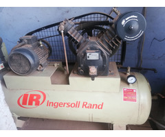 Ingersoll Rand Air Receiver and Vacuum Compressor