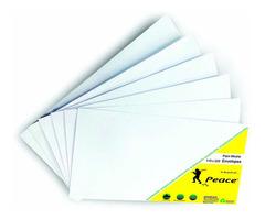 Peace White Plain Envelopes