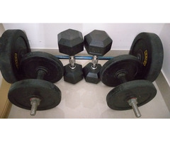 Complete set of Gym Equipments for Immediate Sale