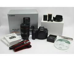 Canon EOS 5D Mark IV Digital SLR Camera with Lens
