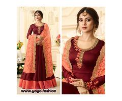 Latest Wedding Anarkali Suit Online