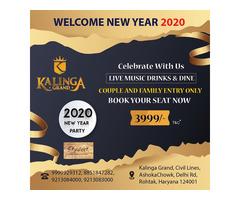 New year Celebrations 2020 Kalinga Grand, In Rohtak