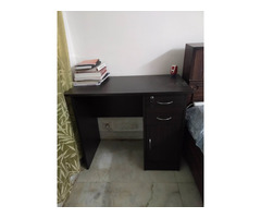 Sofa set, dining table and study table with chairs
