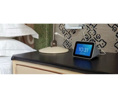 Lenovo Smart Clock (with Google Assistant) (Grey) - Band new