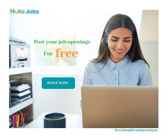 Post job openings for free with free job posting