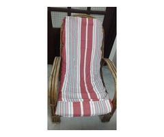 Bamboo cane Easy chair