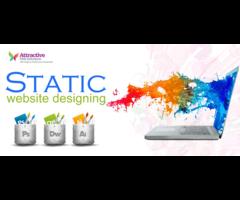 Static web design in Delhi
