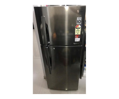 New LG double door 265litres convertible fridge for sale with packing