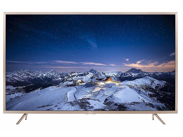 TCL 109.3 cm (43 inches) 4K Ultra HD Smart LED TV L43P2US (Golden) - 1/9