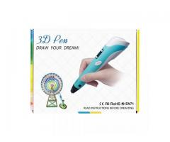 VAMAA 3D Printing Pen SG-RP-100B with LCD Display for 3D Drawing, Arts