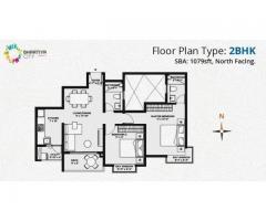 2/3BHK Apartment For Sale In Thanisandra road Bangalore - Bhartiya City Nikoo Homes