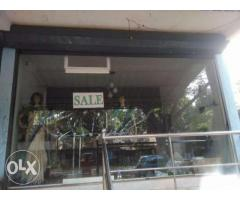 Used Plain Glass shop front