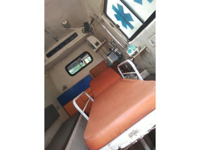 Sale Used Ventilator Ambulance