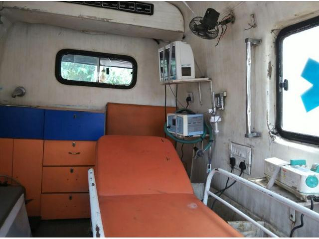 Sale Used Ventilator Ambulance with Nominal Prices