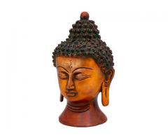 Beautiful Buddha Face Sculpture on Utsav Kraft
