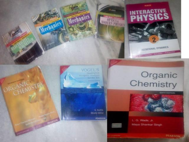 IITJEE PREAPARTION BOOKS 2016-18
