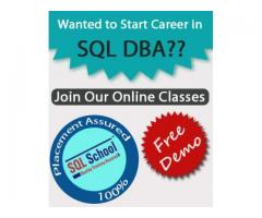 EXCELLENT PROJECT ORIENTED REALTIME TRAINING ON SQL Admin 2012  – ONLINE