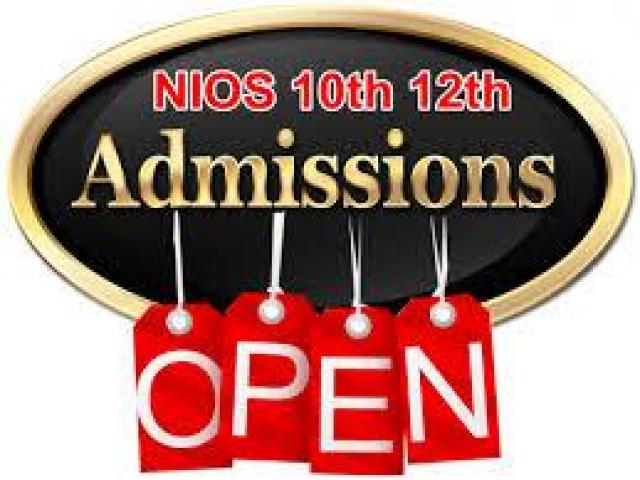 Online Admission Start 10th & 12th class through NIOS@9990177264